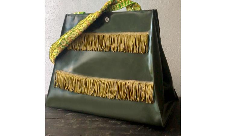 """Handtasche aus Latex, """"Boho 5"""""""