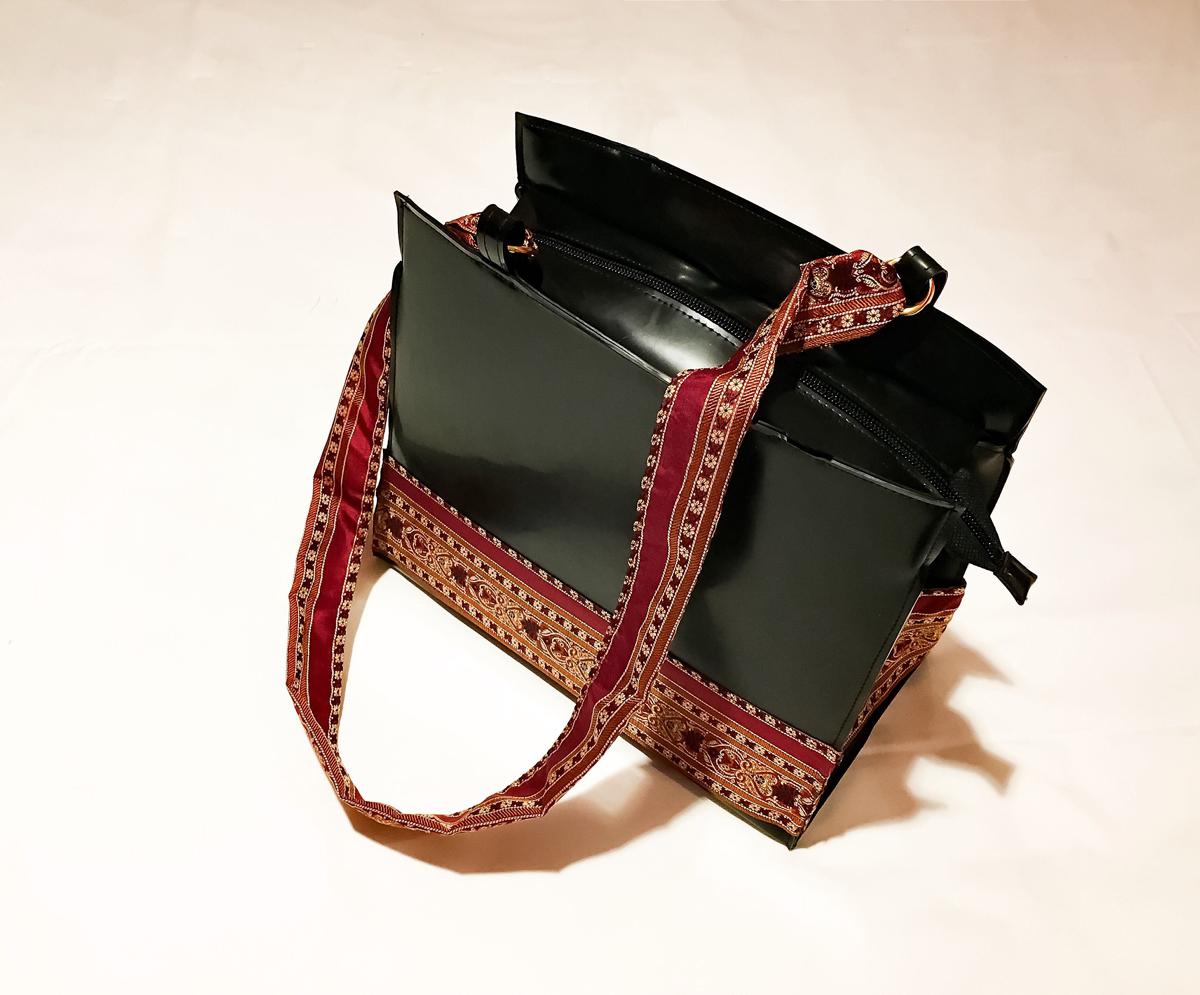 """Handtasche aus Latex, """"Boho 2"""""""