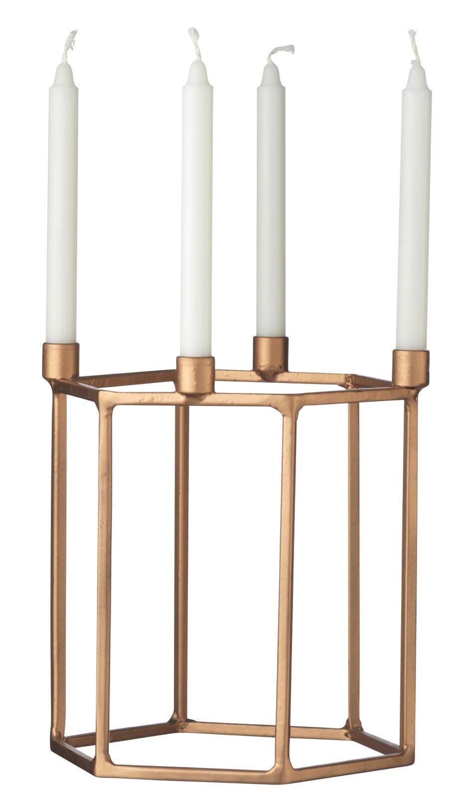 Kerzenständer ohne Kerzen, aus Metall
