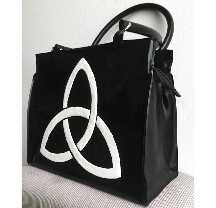 """Handtasche aus Latex, """"Symbols 1/15"""""""