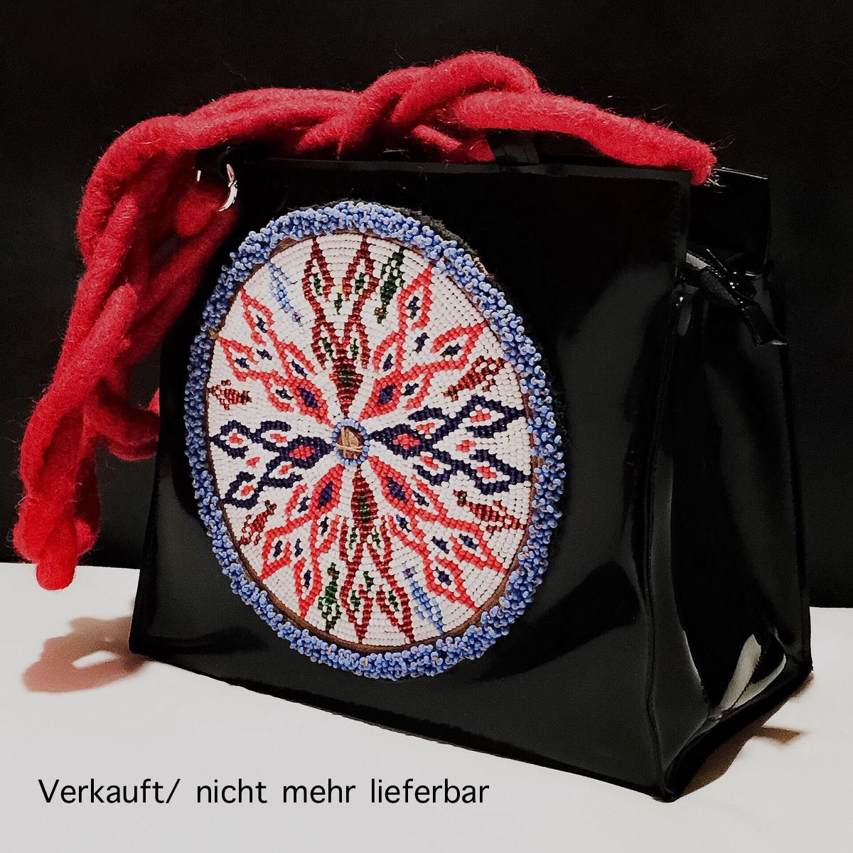 """Handtasche aus Latex, """"Boho 1"""".....*VERKAUFT*"""