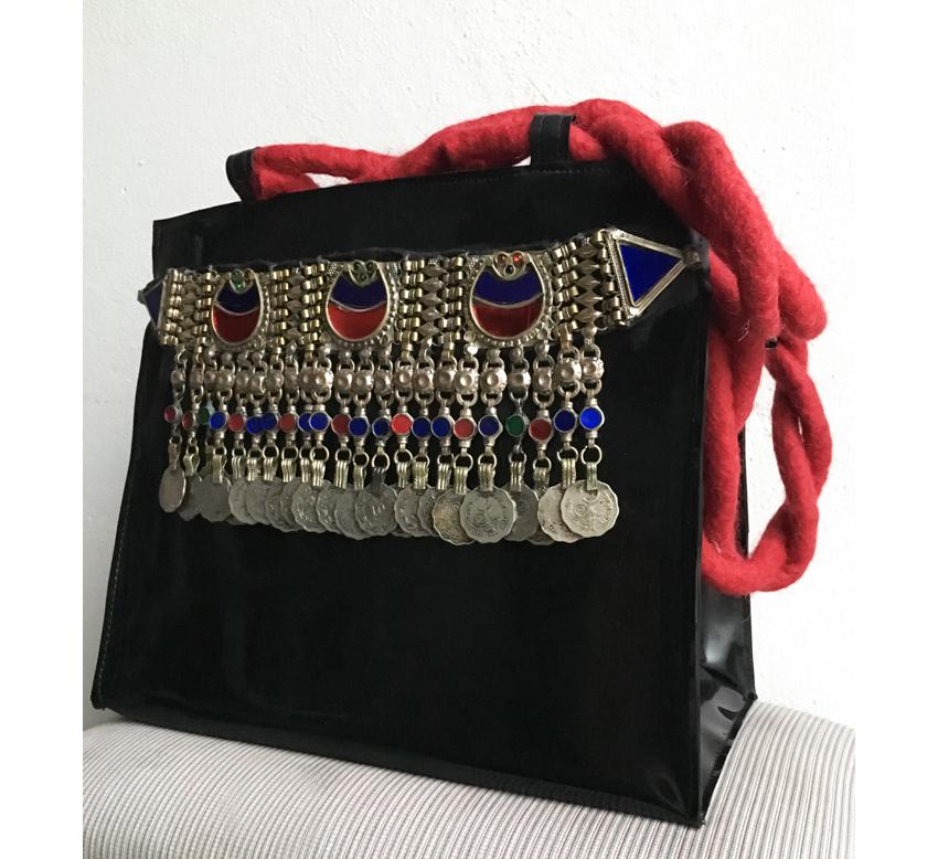 """Handtasche aus Latex, """"Boho 4"""""""