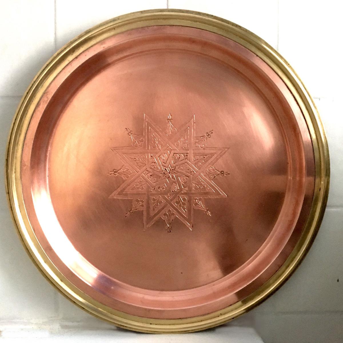 Antiker Kupferteller *VERKAUFT*