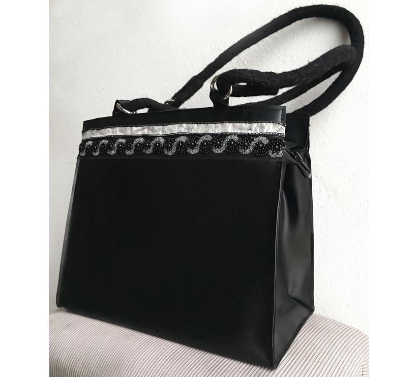 "Handtasche aus Latex, ""Classic 5"""